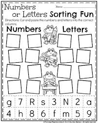 pictures on back to worksheets for kindergarten unique