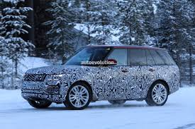 land rover vogue 2018 2018 range rover plug in hybrid goes winter testing autoevolution