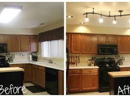 Recessed Kitchen Lighting Ideas Sink U0026 Faucet Impressive Kitchen Ceiling Light Fixtures Ideas In