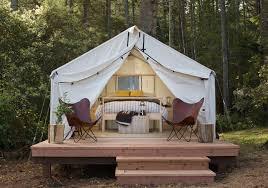building a tent platform mendocino grove