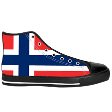 Flag Of Norway Flag Shoes