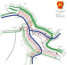 Pittsburgh Pa Map Prr Interlocking Diagrams Altoona To Pittsburgh Main Line