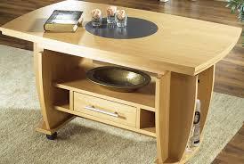 Wohnzimmertisch Uhr Couchtisch Höhenverstellbar Ausziehbar Farben Wählbar Tisch