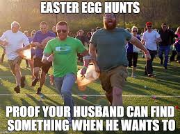 easter egg hunt imgflip