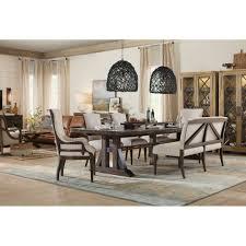 hooker dining room table hooker furniture american life roslyn county formal dining room