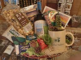 gift baskets for couples lake tahoe gift baskets tahoe gift ideas wine cheese baskets