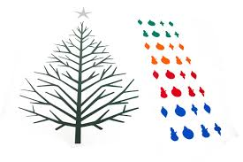 the amazing 2d christmas tree the gift of cuttable holiday vector