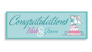 wedding congratulations banner congratualtions groom wedding banner blue banner co uk