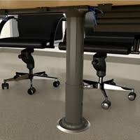 Desk With Cable Management by Desk Cable Management Route Cables And Keep Them Hidden