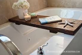 bathroom caddy ideas bathroom awesome bathtub caddy for bathroom design ideas brown