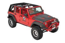 jeep wrangler 4 door top off bestop trektop pro hybrid review jku jeep wrangler soft top