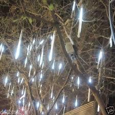 30cm 144 led lights 8 meteor shower snowfall tree