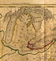Maps Michigan by Osu Um Michigan History The Ohio State University