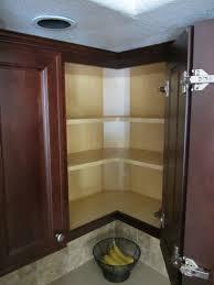 blind corner kitchen wall cabinet ideas corner solution access no bulky corner cabinet