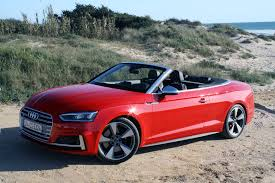 convertible audi red 2018 audi a5 cabriolet and audi s5 cabriolet review autoguide