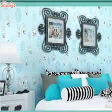 online buy wholesale rabbit wallpaper from china rabbit wallpaper shinehome 10m cartoon cute rabbit animal room wallpaper mural rolls for kids bedroom wall non