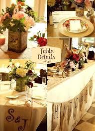 rustic table setting ideas rustic table center piece rustic table decor weddings cuca me