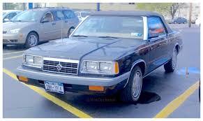 1980s dodge cars realrides of wny 1986 dodge 600