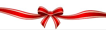 christmas ribbons and bows free christmas ribbon clipart clip library
