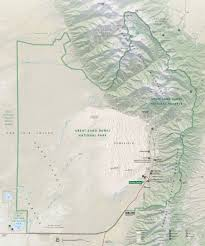 Great Basin National Park Map Zafiri Sangre De Cristo Wilderness Music Pass U0026 Sand Creek Lakes