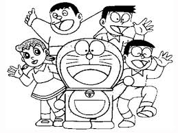science fiction story of doraemon 18 doraemon coloring pages