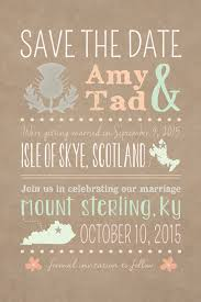 scotland destination wedding stateside reception diy printable