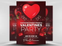 53 fabulous psd valentine flyer templates designs free valentines