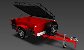 trailer plans designs drawings for construction off road camper