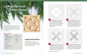 chip carved christmas ornaments 20 patterns with infinite