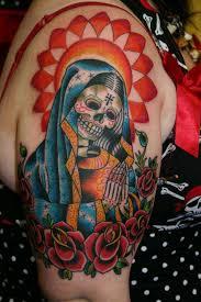 137 best skull tattoos images on sugar skull tattoos