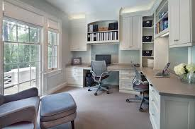 Built In Office Desk Office Built In Bookshelves Home Office Transitional With Office