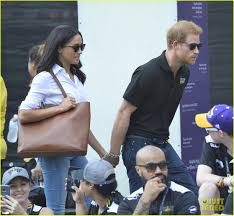 prince harry u0026 meghan markle hold hands make first public