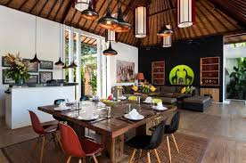 Balinese Dining Table Exceptional Villas Ministry Of Villas