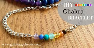 make beads bracelet images How to make a 7 chakra bracelet 2 ways golden age beads jpg
