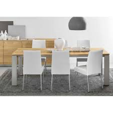 berliner cb 1448 lh metal frame and leather upholstered dining