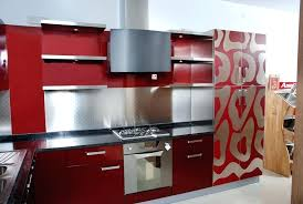 colored kitchen faucets dark red kitchen colors modular kitchen red color combinations
