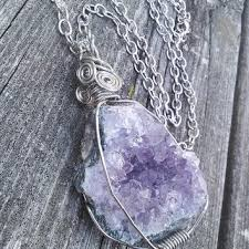 real crystal necklace images Theearthdragonscave on etsy on wanelo jpg