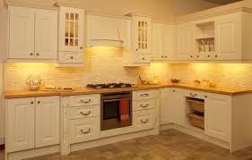 Kitchen Yellow Walls White Cabinets by Natural Wood Kitchen Cabinets That Boost Fascinating Interior