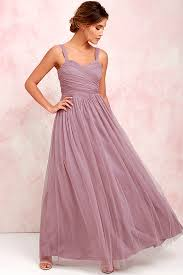 pretty mauve gown tulle gown bridal gown maxi dress 82 00