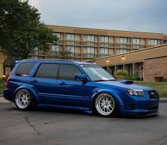 bagged subaru forester to pick this thing back up from the body shop next week been gone