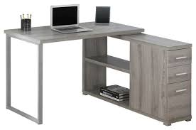 computer desk cappuccino left or right facing corner