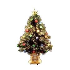 national tree company 36 in fiber optic fireworks artificial tree