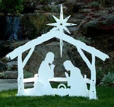 large outdoor nativity set by mynativity 3
