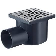 siphon de sol cuisine professionnelle siphon de sol à maçonner 10x10 galets rubrique sanitaire