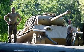 second world war tank and anti aircraft gun found hidden in