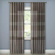 Velvet Curtain Panels Target Target Threshold Gray Velvet Curtain Grommet Panel 95 L Nwop Ebay