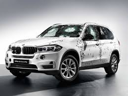 bmw jeep bmw showed off its armored suv by attacking it with a machine gun