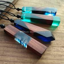 handmade long necklace images Wholesale fashion women men time necklace handmade vintage resin jpg