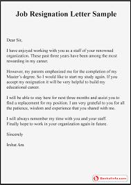 5 resignation letter sample with reason better opportunity
