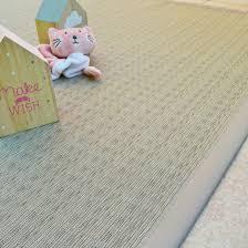 tapis extérieur pvc tressé grège 160 x 230 cm decoweb